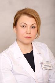 Кашина Дарья Валерьевна