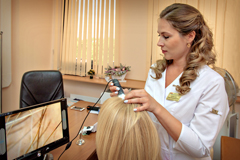 трихоскопия волос в обп